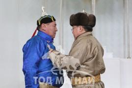 Манлай уяач С.Лувсанбалдан