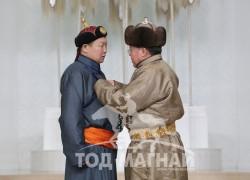 Монгол Улсын Алдарт уяач Б.Ганбат
