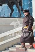 Монгол Улсын Алдарт уяач П.Одонбаатар
