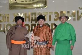 """Шилдэг сумын салбар холбоо: Өмнөговь аймгийн Манлай сумын """"Манлайн хурд"""" МСУХ-ны төлөөлөгчид"""