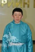 """Сэлэнгэ аймгийн Цагааннуур сумын харьяат, """"Түмний эх"""" гал уяаны уралдаанч 15 настай Чогдонгийн Бямбажав"""
