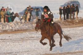 Залуу уяач Э.Орхон: Морь уясан анхны жилээ амжилт арвин сайхан наадсан